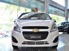 Bán Chevrolet Spark 1.2 LS năm 2016, màu trắng, chính hãng