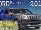 Cần bán Ford Everest đời 2017 màu xám (ghi), 1 tỷ 329 triệu, xe nhập