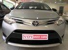 Cần bán lại xe Toyota Vios MT đời 2015, màu bạc, giá tốt