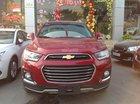 Chevrolet Captiva 2.4L màu đỏ có xe sẵn trả góp 95%. Giá rẻ nhất miền Nam