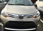 Cần bán xe Toyota Vios 1.5G đời 2016, màu vàng
