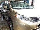 Bán Toyota Sienna sản xuất 2008, màu vàng, nhập khẩu chính hãng