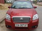 Cần bán xe Daewoo Gentra SX đời 2008, màu đỏ chính chủ, giá 222tr