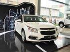 Bán Chevrolet Cruze LT 1.6MT đời 2016, màu trắng, giá chỉ 589 triệu