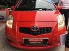 Bán ô tô Toyota Yaris G đời 2007, màu đỏ, nhập khẩu nguyên chiếc, 455tr