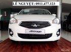 Cần bán Mitsubishi Attrage mới đời 2017, màu trắng, xe nhập, siêu tiết kiệm xăng. Liên hệ: Lê Nguyệt: 0911.477.123