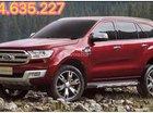 Bán xe Ford Everest sản xuất 2017 màu đỏ, 1 tỷ 349 triệu nhập khẩu, hỗ trợ vay 80%, liên hệ: 0934.635.227