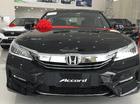 Cần bán Honda Accord năm 2016 màu đen, 1 tỷ 400 triệu nhập khẩu