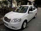 Cần bán Daewoo Gentra (SX) sản xuất 2009, màu trắng, gia đình sử dụng kỹ zin 98%