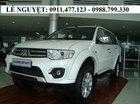 Cần bán Mitsubishi Pajero Sport màu trắng, xe 7 chỗ giá sốc, liên hệ: Lê Nguyệt: 0911.477.123