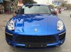 Cần bán gấp Porsche Macan đời 2015, màu xanh lam, nhập khẩu