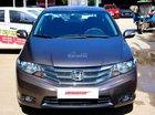 Bán ô tô Honda City 1.5AT đời 2014, màu nâu, 46.900km, 525tr