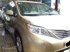Bán ô tô Toyota Sienna năm 2011, màu vàng cát, nhập khẩu chính hãng