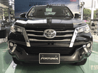 Bán Toyota Fortuner sản xuất 2017 màu đen nhập khẩu