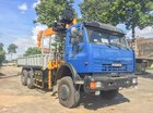 Bán xe tải gắn cẩu Kamaz 65117 Soosan 746L7 tấn giá mềm