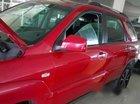 Cần bán Kia Sportage đời 2007, màu đỏ xe gia đình giá cạnh tranh