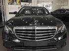 Bán xe Mercedes E200 2017 mầu đen nội thất nâu, xe có sẵn giao ngay, giá tốt nhất thị trường