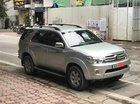 Bán Toyota Fortuner V đời 2009, màu bạc