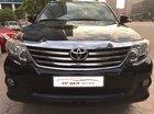 Cần bán Toyota Fortuner V đời 2014, màu đen, số tự động