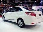 Bán xe Toyota Vios 1.3 J đời 2017, màu trắng