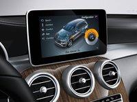 Màn hình cảm ứng trung tâm trên Mercedes-Benz GLC-Class.
