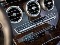Hệ thống điều hòa trên Mercedes-Benz GLC-Class.