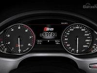 Đánh giá xe Audi S8 2016: Cụm đèn trên xe được tích hợp nhiều đèn báo