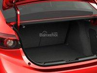 Đánh giá xe Mazda 3 2016 phần đuôi xe 4