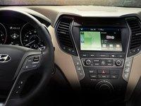 Đánh giá xe Hyundai SantaFe 2017 phần tiện nghi 4.
