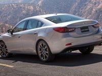 Mazda 6 2016 khi được nhìn từ hông bên trái.