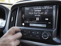 Đánh giá xe Chevrolet Colorado 2016: Xe tích hợp cả đài radio.