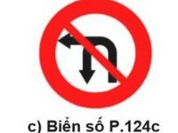 Cấm rẽ trái và quay đầu xe.