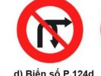 Cấm rẽ phải và quay đầu xe.