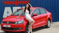 Bán ô tô Volkswagen Polo Sedan 1.6l đời 2014, màu đỏ, nhập khẩu Đức, LH Hương 0916777090