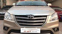 Bán xe Toyota Innova 2.0E đời 2015, màu vàng số sàn, giá chỉ 765 triệu