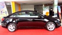 Bán xe Chevrolet Cruze LTZ 2017, màu đen, ưu đãi giá tốt, LH: 0901027102 Huyền Chevrolet
