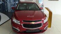 Bán xe Chevrolet Cruze LT 2017, màu đỏ đô, ưu đãi giá tốt, LH: 0901027102 Huyền Chevrolet