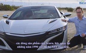 Đánh giá xe Acura NSX 2016: Diện mạo tuyệt đẹp, tốc độ đẳng cấp