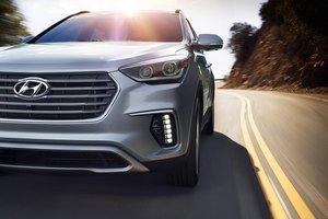 Đánh giá xe Hyundai SantaFe 2017 phần đầu 3.