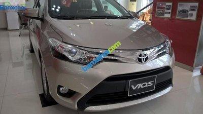 Cần bán gấp xe Toyota Vios 1.5G, đời 2015, giá tốt