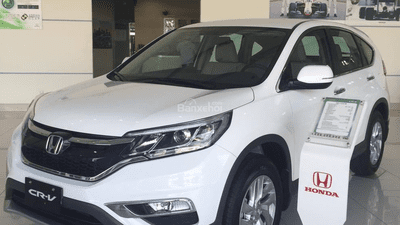 Bán Honda CRV 2. 4 thế hệ 2016 đủ màu chiết khấu cao, khuyến mại lớn