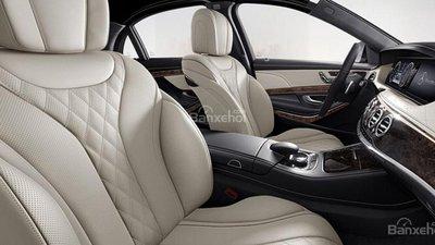 Bán ôtô Mercedes S500L thế hệ 2016, xe màu đen, bàn giao ôtô ngay