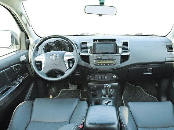 Nội thất của Toyota Fortuner 2014 a