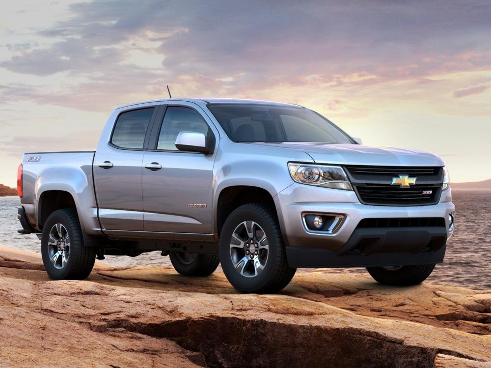 Chevrolet Colorado 2015.