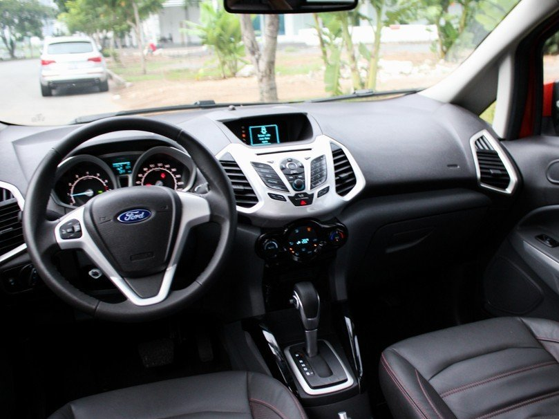 Nội thất của Ford EcoSport 2014.