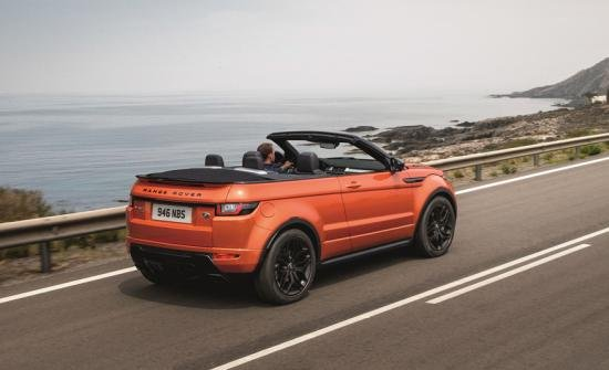 Land Rover Evoque Convertible 2017.