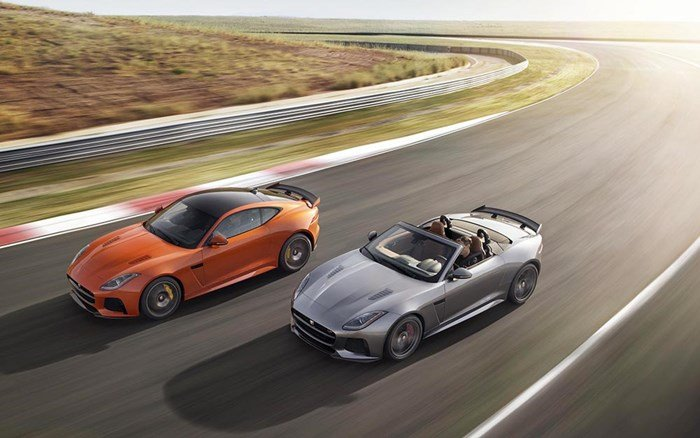 F-Type SVR Coupe và Convertible 2017.