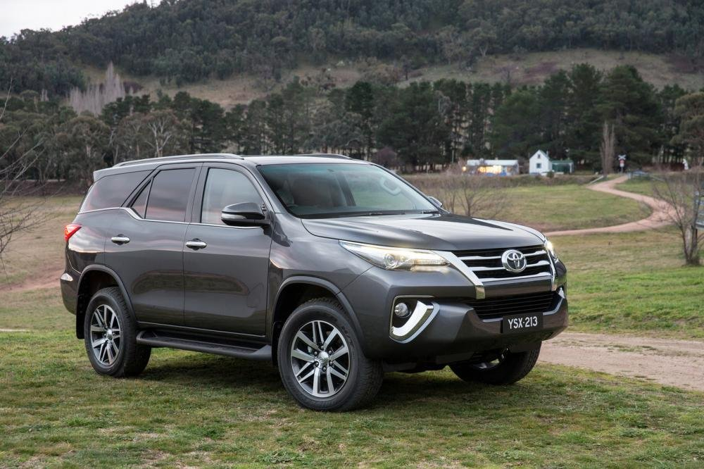 Thân xe Toyota Fortuner 2016-2017