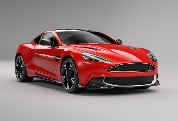 Aston Martin Vanquish S Red Arrow 1