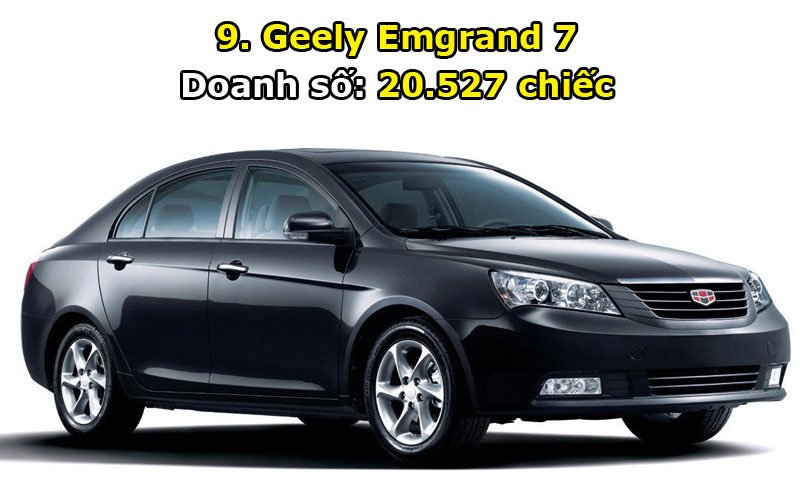 9. Geely Emgrand 7.